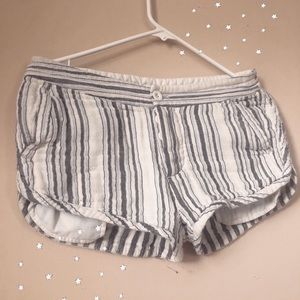 Free People Striped shorts!